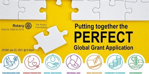 Putting Together The PERFECT Global Grant Application